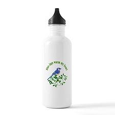 Blue Jays Warm My Heart Water Bottle