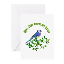 Blue Jays Warm My Heart Greeting Cards (Pk of 10)