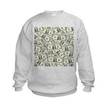 Dollar Bills Sweatshirt