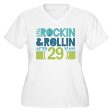 29th Anniversary Rock N Roll T-Shirt