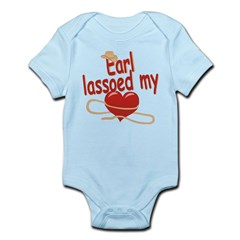 Earl Lassoed My Heart Infant Bodysuit