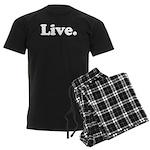 Live Men's Dark Pajamas