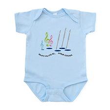 Flute Treble Quote Infant Bodysuit