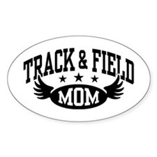 Track & Field Mom Decal