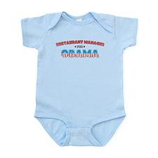 Restaurant Manager For Obama Infant Bodysuit