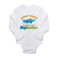 Alligator going to be a Big B Long Sleeve Infant B