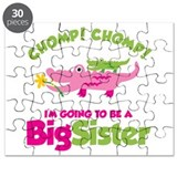 Alligator going to be a Big Sister Puzzle