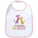Giraffe going to be a Big Sister Bib