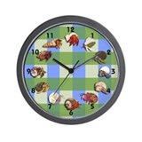 Hermies Wall Clock