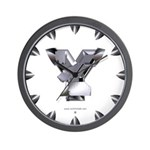 Heavy Metal Y Wall Clock
