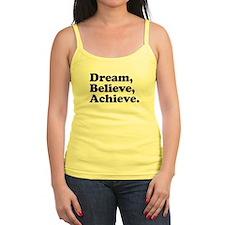 Dream Believe Achieve Jr. Spaghetti Tank