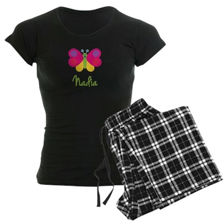 Nadia The Butterfly Women's Dark Pajamas