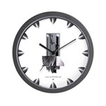 Heavy Metal 1 Wall Clock