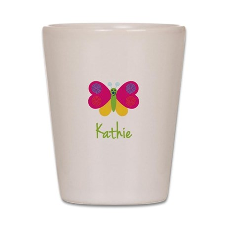 Kathie The Butterfly Shot Glass
