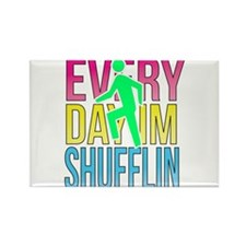 Shufflin Rectangle Magnet (100 pack)