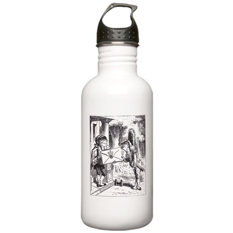 Fish-Footman Stainless Water Bottle 1.0L