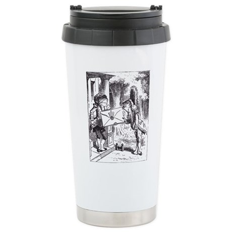 Fish-Footman Ceramic Travel Mug