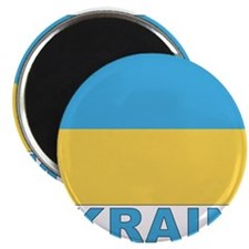 World Flag Ukraine Magnet