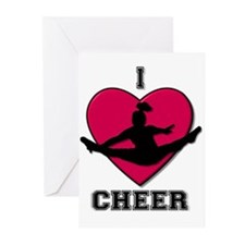I love Cheerleading Greeting Cards (Pk of 20)