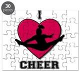I Love Cheer Puzzle