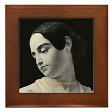Virginia Eliza Clemm Poe Framed Tile