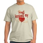 Fred Lassoed My Heart Light T-Shirt