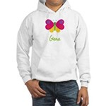 Gena The Butterfly Hooded Sweatshirt