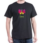 Gena The Butterfly Dark T-Shirt