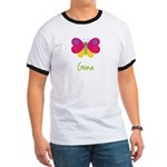 Gena The Butterfly Ringer T