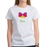 Gena The Butterfly Women's T-Shirt