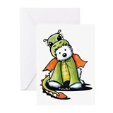Year Of The Dragon Westie Greeting Cards (Pk of 20