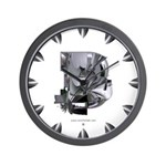 Heavy Metal 3 Wall Clock