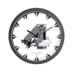 Heavy Metal 4 Wall Clock