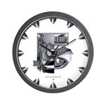 Heavy Metal 5 Wall Clock