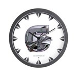 Heavy Metal 6 Wall Clock