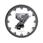 Heavy Metal 7 Wall Clock