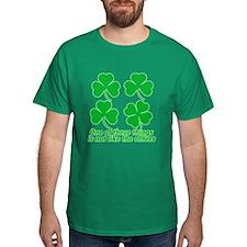 Shamrocks and Clovers T-Shirt