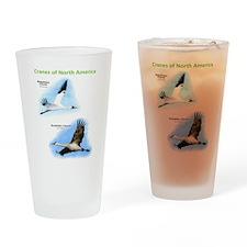 Cranes of North America Drinking Glass