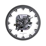 Heavy Metal 8 Wall Clock