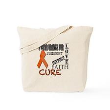 Cute Leukemia Tote Bag