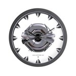 Heavy Metal Icon Wall Clock