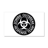 Zombie outbreak response team Car Magnets