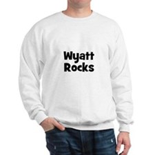 Wyatt Rocks Sweatshirt