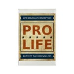 Pro Life Rectangle Magnet