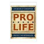 Pro Life Postcards (Package of 8)