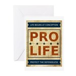 Pro Life Greeting Cards (Pk of 20)