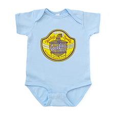 Colorado Beer Label 5 Infant Bodysuit
