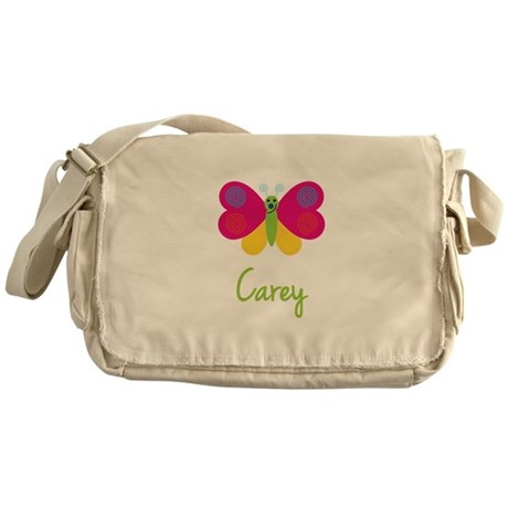Carey The Butterfly Messenger Bag