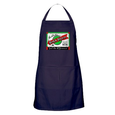 Texas Beer Label 2 Apron (dark)