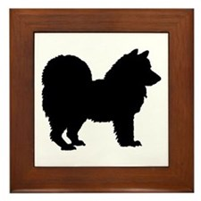 Chow Chow Silhouette Framed Tile